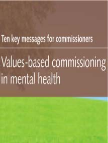 Ten key messages for commissioners
