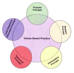 values based practice model
