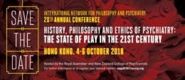 SAVE THE DATE for INPP conference 2018, Hong Kong